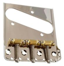 Telecaster® Bridge For Bigsby~GOTOH Compensated Saddles~4 Hole Mount~Brand New