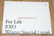 EXO For Life WINTER SMTOWN COEX Artium SUM GOODS ICE TRAY GRAY + POSTCARD SET