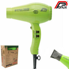 Parlux - Dryer Hair 3800 Ionic & Ceramic Green Low Noise 2100W Very Lightweight