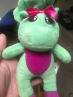 Barney The Dinosaur Stuffed Plush Lot of 4  w/ Baby Bop & BJ free shipping