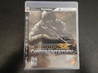 SOCOM: U.S. Navy SEALs Confrontation (Sony PlayStation 3, 2008)