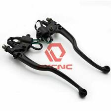 FXCNC Universal 7/8'' 22mm Motorcycle Motorbike Brake Clutch Lever Perch Cable