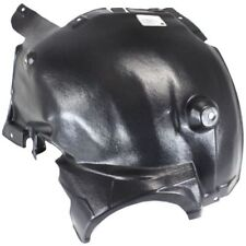 For C230 03-07, Front, Passenger Side Fender Splash Shield, Plastic