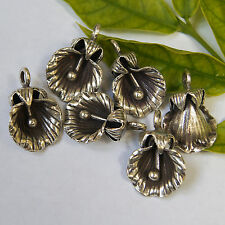 Karen hill tribe One pair Pendant 98-99%silver