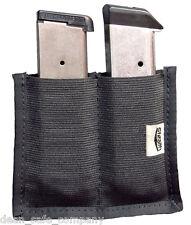 Stealth Velcro Double Magazine Holder Gun Clip Accessory Safe Storage Solution