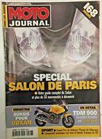 MOTO JOURNAL N° 1487 - 27 Septembre 2001 -  Spécial salon de Paris