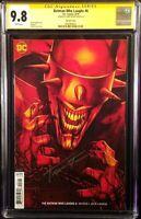 BATMAN WHO LAUGHS #6 CGC SS 9.8 JENNY FRISON VARIANT JOKER HARLEY QUINN DC COMIC