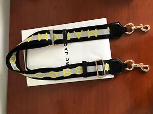Marc Jacobs Snapshot  BLACK silver multi strap SALES