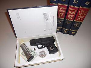 NY jurisprudence diversion book hide a pistol  gun cabinet Mens jewelry box