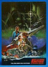 Star Wars Empire Strikes Back Vintage Laminated Production Card