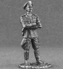 Metal Toy Soldiers Figures Civil War 1/32 White Captain Military Officer 54mm