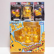 Pikachu Tomy Figure Pokemon Monster Collection 9 Pieces Set Party 069 070 072
