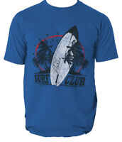 Surf club t shirt Miami Florida surfing beach S-3XL
