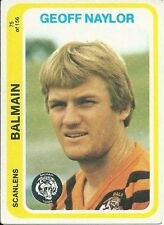 Balmain Tigers 1979 Season NRL & Rugby League Trading Cards