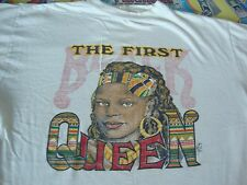 VTG 90's THE FIRST BLACK QUEEN Latifah Nubian 1993 Hip hop rap tour T Shirt L