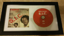 KRIZZ KALIKO S.I.C. SIGNED AUTOGRAPHED FRAMED CD DISPLAY #A LAST ONE!