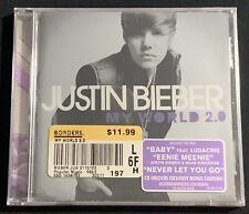 Justin Bieber - My World 2.0 (CD, 2010, Island Records)