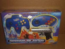 Power Player TV Video Game, Blue, Super Joystick, 76000, Original New Addition
