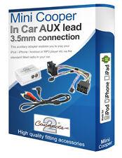 BMW Mini Cooper AUX iPod iPhone MP3 Player BMW iPod AUX In Adattatore Interfaccia Kit