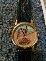 Mary Engelbreit Watch THE QUEEN  OF EVERYTHING BLUE BAND NEW