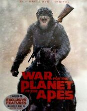 War for the Planet of the Apes (Blu-ray/DVD, Includes Digital Copy, 2017)