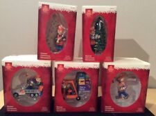 Home Depot Homer Christmas Ornaments set of 5