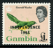 Gambia 1965 Elizabeth & Birds set Sc# 193-205 NH