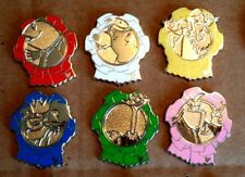 DLR PINS- Hidden Mickey Collection 2010- Bedknobs & Broomsticks- 6 pin set