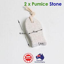 2pc Pumice Stone Foot Care Scrubber Dead Skin Callus Remover Pedicure Tool pedi
