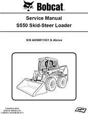 Bobcat S550 Skid-Steer Loader  Service Manual CD