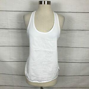 Lululemon Principle Tank Top White Size 4 / 6 Sleeveless Tencel Lightweight