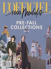 L'Officiel 1000 Models Magazine #105 2014 Milan New York FALL/WINTER COLLECTIONS