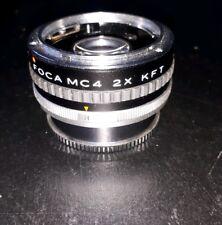 FOCA MC4 2X KFT  POUR KONICA . DOUBLEUR DE FOCALE..