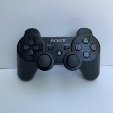 Sony Playstation 3 PS3 DualShock 3 Controller Black Genuine OEM