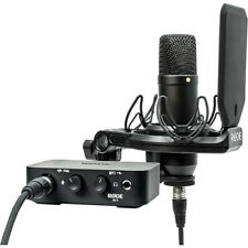 Rode Complete Studio Kit w/ AI-1 Audio Interface, NT1 Microphone, SMR Shockmount