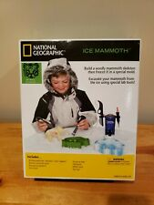 National Geographic Ice Mammoth Excavation Kit. New.