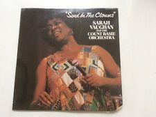 """Sarah Vaughan With Count Basie Orchestra """"Send In The Clowns""""  Sealed Vinyl LP"""