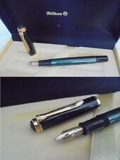 PELIKAN 400 PENNA STILOGRAFICA NERA E VERDE PENNINO ORO 14K Gold Fountain pen