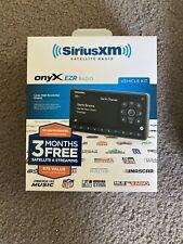 SiriusXM Onyx EZR SXEZR1H1 Satellite Radio Receiver w/ Home Kit - 3 Months Free