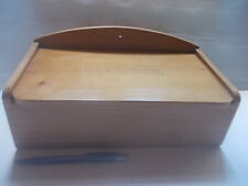 Vintage: BOITE NETTOYAGE Ancien Old-fashioned Cleaning Box, Bois Wood POETSDOOS