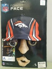 Denver Broncos NFL Forest Face Tree Decoration New In Box.