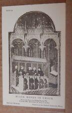 Postcard British Museum Collection Henry VI Psalter Black Monks In Choir