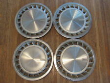 "CHRYSLER CORP. PLYMOUTH DODGE CARAVAN VOYAGER 14"" HUBCAPS SET OF 4 L1 X3-1901"