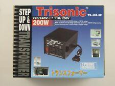 new transformer step up/down voltage converter 110v to 220v adapter 100/200/300w