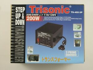 Transformer step up/down voltage converter 110v to 220v adapter 100/200/300/500w