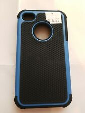 Black Blue Hard Case For Iphome 4 4s C79