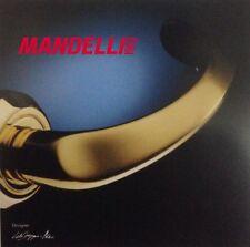 Maniglia Mandelli per porta serie SOFFIO art551 finitura tutta ORO Made in Italy