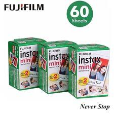 60 Sheets Fujifilm Instax White Instant Camera Photo Film