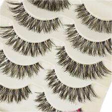 10 Pairs Natural Thick Demi Wispies False Eyelashes Fake Eye Lashes Wispy - S1