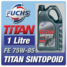 FUCHS TITAN SINTOPOID 1 LITRE SAE 75W-85 GEARBOX OIL FULLY SYNTHETIC AXLE FLUID